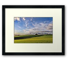 Late Afternoon at Wesley Vale Framed Print