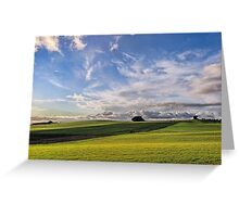 Late Afternoon at Wesley Vale Greeting Card