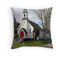 """Saint Pauls Episcopal Church"" Throw Pillow"