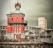 The Red Clock Tower by Ben Good