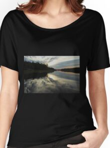 Sun Behind The Clouds Women's Relaxed Fit T-Shirt