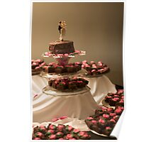 Brownie Cake Poster