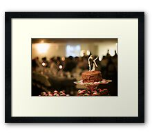 The Blur Framed Print