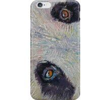 Panda Portrait iPhone Case/Skin