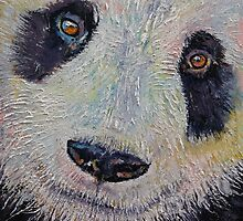 Panda Portrait by Michael Creese