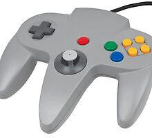 N64 Nintendo Controller Sticker by HybridHD