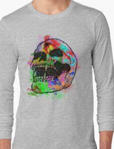 Colorful Skull Long Sleeve T-Shirt