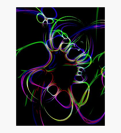 Flailing Ribbon Photographic Print