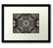 ©NS Nature Fractal Mantra IIIA. Framed Print
