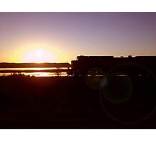 Sunset at Goose Island Photographic Print