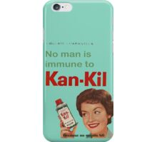 Kan-Kil Cat Call Killer RETRO iPhone Case/Skin