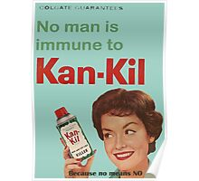 Kan-Kil Cat Call Killer RETRO Poster