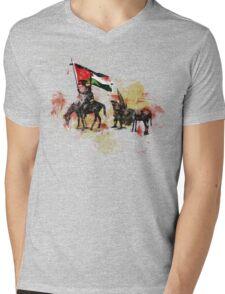 don quichote & sancho panza Mens V-Neck T-Shirt