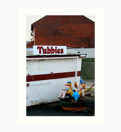 tubbies Art Print