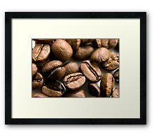 Wake up and smell the coffee Framed Print