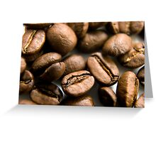 Wake up and smell the coffee Greeting Card