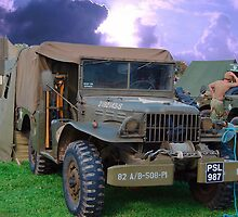 Army Truck by Tony Dewey