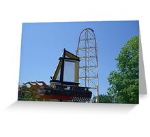 Top Thrill Dragster, Cedar Point Greeting Card