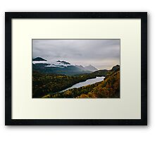 Turning of Fall Framed Print