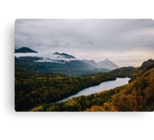 Turning of Fall Canvas Print