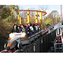 Top Thrill Dragster, Cedar Point Photographic Print