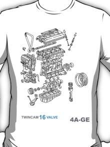 4A-GE Explode T-Shirt