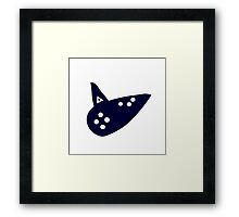 Ocarina of Time - Ocarina Framed Print