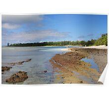 Desroches Atoll, Seychelles Poster