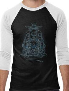 AudioHIve - Electric Men's Baseball ¾ T-Shirt