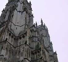 The Bell Towers of York Minster by soletlune