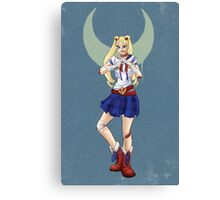 In the Name of the Moon... Canvas Print