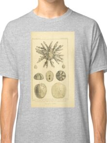 The Animal Kingdom by Georges Cuvier, PA Latreille, and Henry McMurtrie 1834  537 - Zoophytes Plant-Like Animals Classic T-Shirt