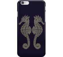Vintage Tribal Sea Horses iPhone Case/Skin