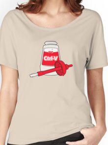 Nerd Paste Women's Relaxed Fit T-Shirt