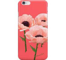 When You Say Nothing At All~ Poppies iPhone Case/Skin