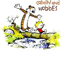 Calvin and hobbes funny Adventure by JackCustomArt