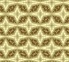 Abstract Gold Pattern by Lena127