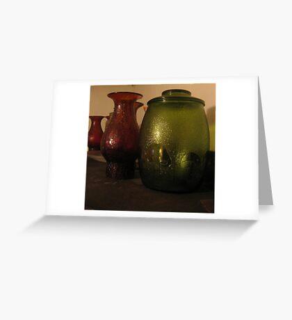 Cookie Jar & Lamp Shades Greeting Card