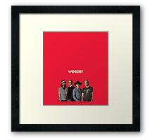 Red Album Framed Print