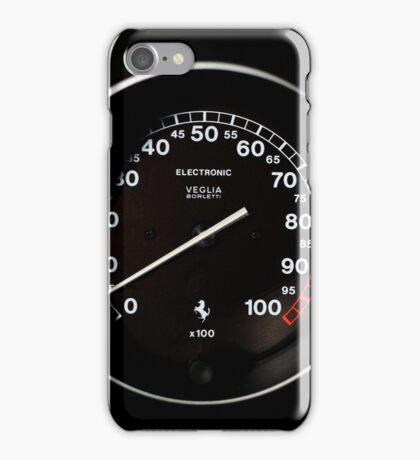1995 Ferrari F355 Spider - Blood Pressure - RPM Gauge iPhone Case/Skin