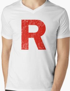 Rocket Mens V-Neck T-Shirt