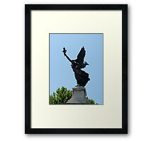 Angel Watching Over Rome Framed Print