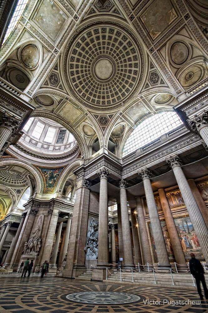 Pantheon Distortion. by Victor Pugatschew