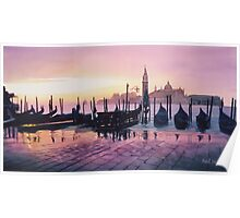 """Sunrise St. Marks"" Watercolor Poster"
