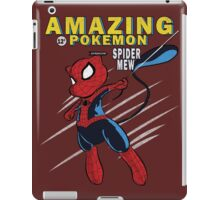 The Amazing Spider-Mew iPad Case/Skin