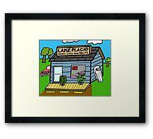 Lake Placid Sale Framed Print