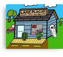 Lake Placid Sale Canvas Print
