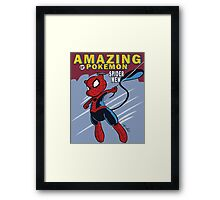 The Amazing Spider-Mew Framed Print