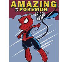 The Amazing Spider-Mew Photographic Print
