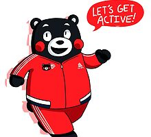 kumamon - let's get active! by triplewipe45